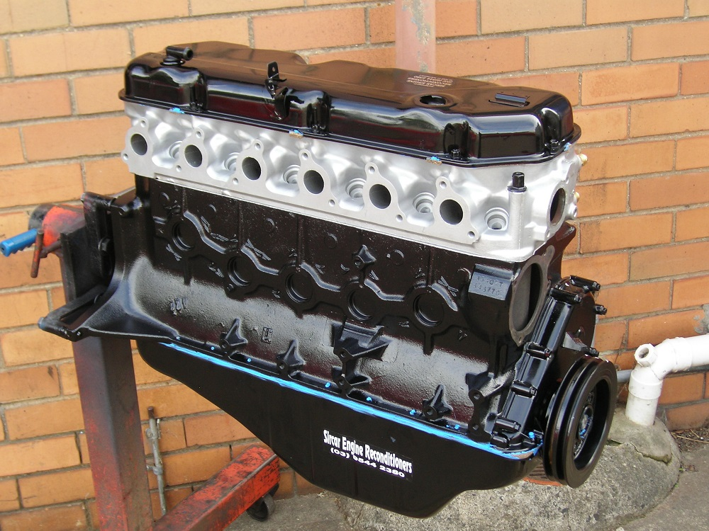Ford XF 4.1L Crossflow Reconditioned Engine.