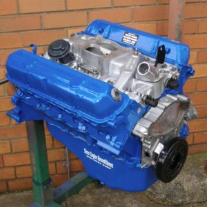 Holden 253 Blue Motor Reconditioned with LPG Heads and some Accessories Fitted.