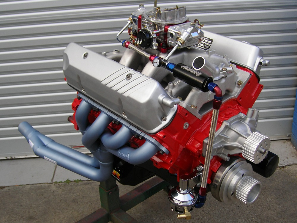Holden 308 - 355 Stroker Engine with a Hydraulic Roller Cam. 450 hp.