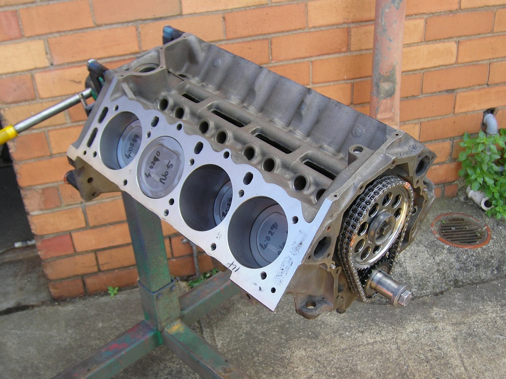 Holden 308 - 355ci Stroker Short Engine. Come Crank, A9L Conrods , ARP Rod Bolts and nMain Studs, Hypereutectic Pistons, Align Honed,Torque Plate Bore and Honed, '0' Decked, Balanc