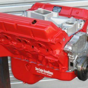 Holden 308 Red Motor. Trimatic Bolt Pattern Block, Crane 286 Camshaft, etc.