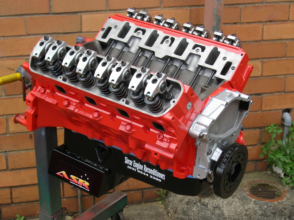 Holden 355 Stroker that is Nearing Completion. Holden Engines.