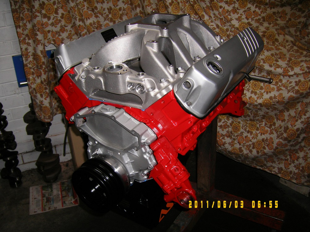 Holden 5.0L - 355 Stroker Engine. Solid Cam. 500 hp.