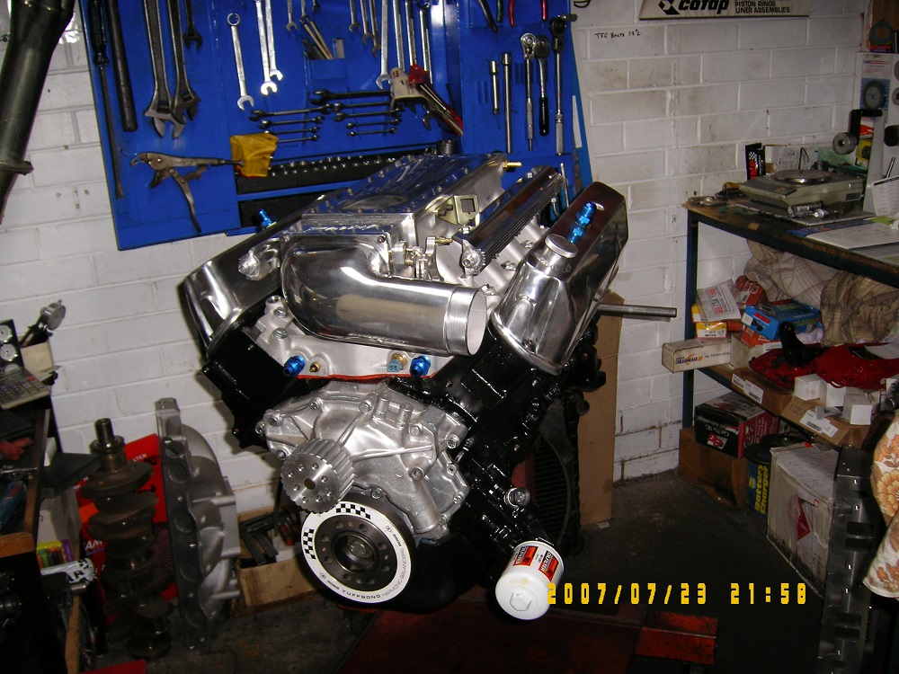 Holden 5.0l efi - 355ci Stroker Engine with a Hydraulic Roller Cam, 500 hp.