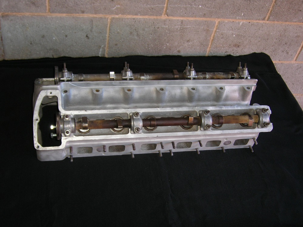 Jaguar XJ6 6 Cylinder Head that has been Reconditioned.
