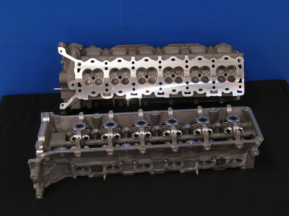 V12 Aston Martin Reconditioned Cylinder Heads.