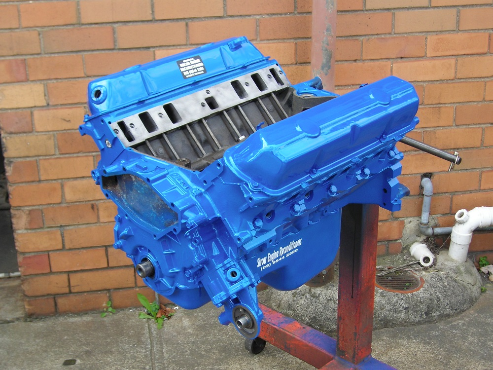 308 Holden Blue Motor that's Fully Reconditioned.