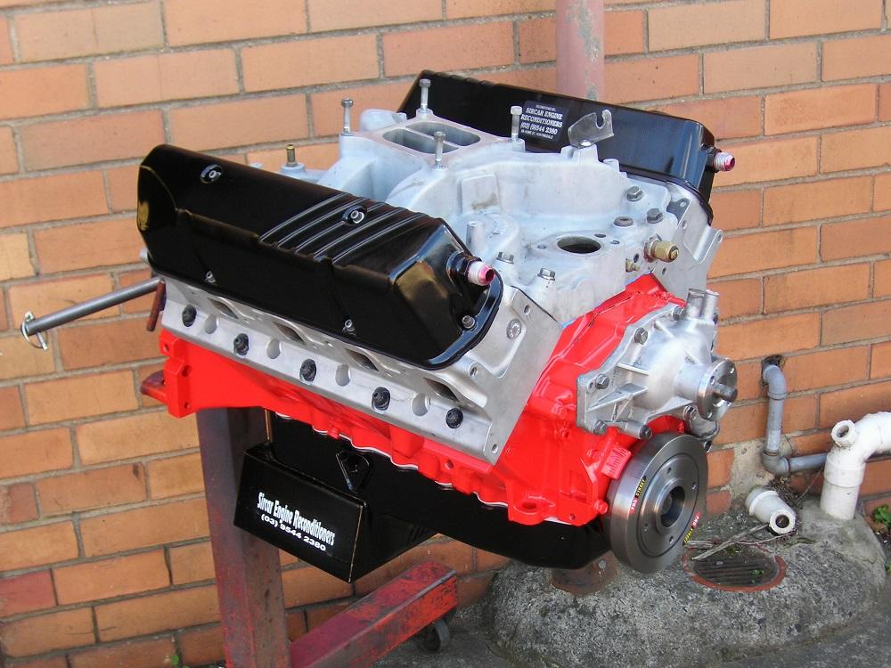 Holden 308 - 355ci Stroker Engine with Yella Terra Dash 9 Alloy Heads, Yella Terra Platinum Roller Rockers, Custom Hydraulic Camshaft, Torque Power Inlet Manifold, etc.